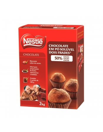 CHOCOLATE EM PO 50% NESTLE 2KG
