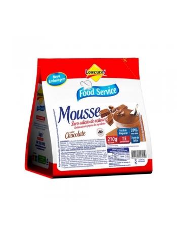 MOUSSE DIET CHOCOLATE LOWCUCAR 210G