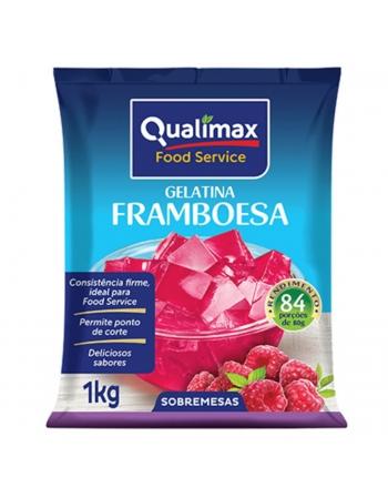 GELATINA FRAMBOESA QUALIMAX 1KG