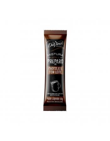 CHOCOLATE C/LEITE SACHET DAVINCI 100X10