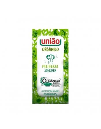 ACUCAR ORGANICO SACHET UNIAO 400X5G