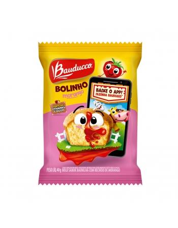 BOLINHO BAU/MORANGO BAUDUCCO 112X40G