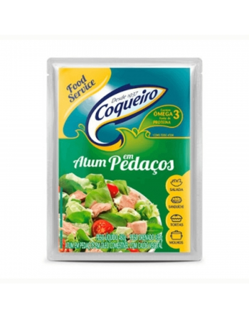 ATUM PEDACOS POUCH COQUEIRO 480G