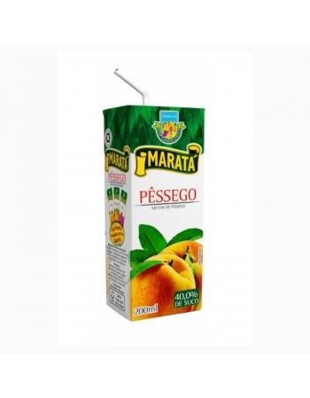 NECTAR PESSEGO MARATA 27X200ML