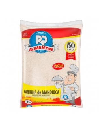 FARINHA MANDIOCA CRUA PQ 1KG