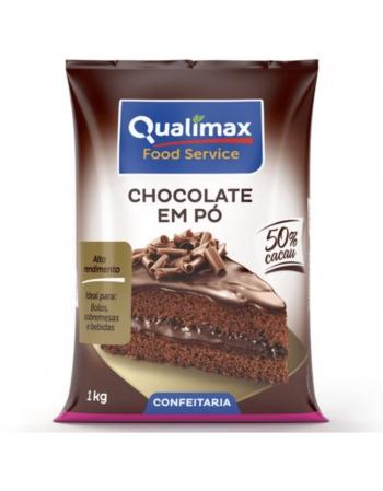 CHOCOLATE EM PO 50% QUALIMAX 1KG