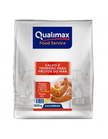 CALDO DE FRUTOS MAR E TEMP QUALIMAX 500G