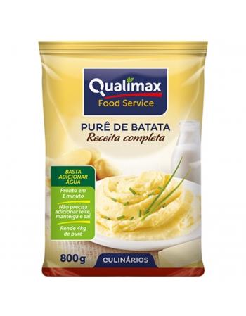 PURE DE BATATA COMPLETO QUALIMAX 800G