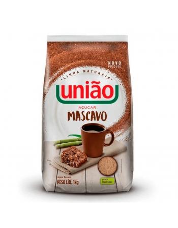 ACUCAR MASCAVO UNIÃO 1KG