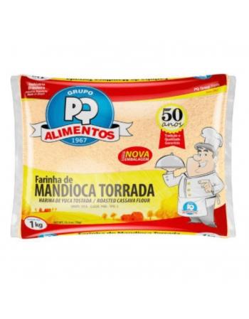 FARINHA MANDIOCA TORRADA PQ 1KG