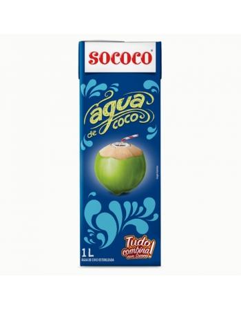 AGUA DE COCO SOCOCO TP 1L