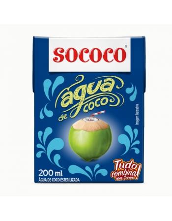 AGUA DE COCO SOCOCO 24X200ML