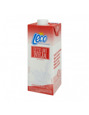 LEITE UHT INTEGRAL LECO 12X1 L