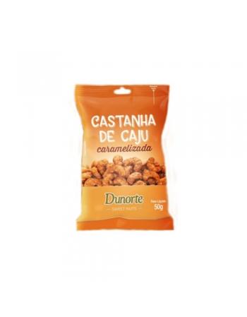 CASTANHA DE CAJU CARAMELIZADA DUNORTE 10X50G