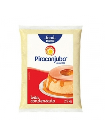 LEITE CONDENSADO PIRACANJUBA BAG 2,5KG