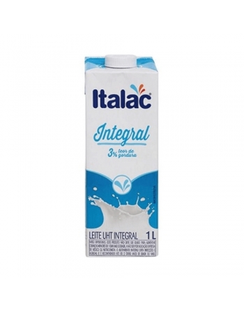 LEITE UHT INTEGRAL ITALAC 12X1L