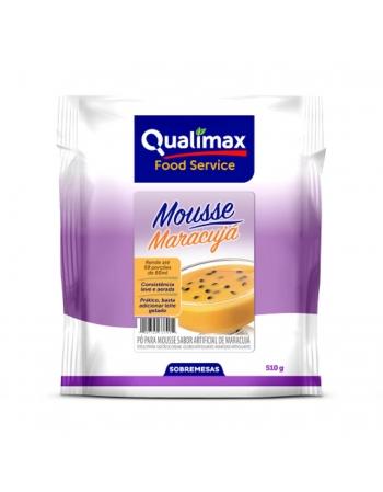 MOUSSE MARACUJA QUALIMAX 510G