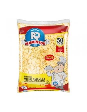 FARINHA MILHO AMARELA PQ 1KG