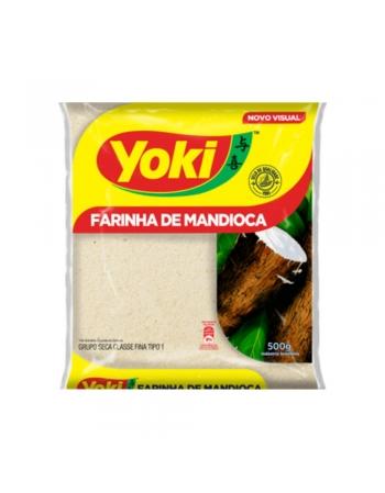 FARINHA DE MANDIOCA YOKI 1KG