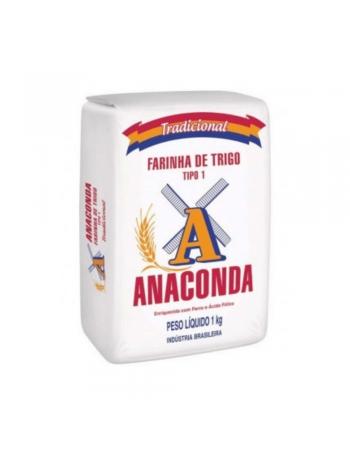 FARINHA TRIGO T1 ANACONDA 1KG