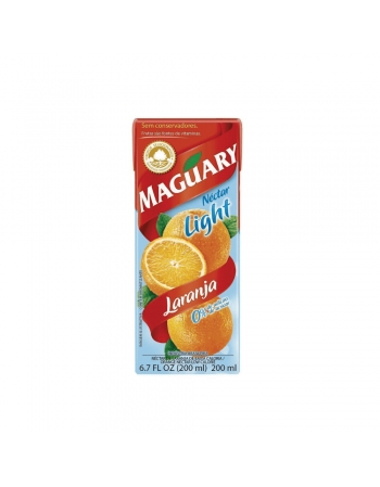 NECTAR LARANJA LIGHT MAGUARY 27X200ML