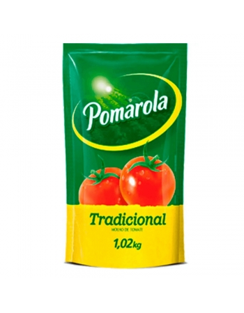 MOLHO TOMATE POMAROLA SC 1,02KG