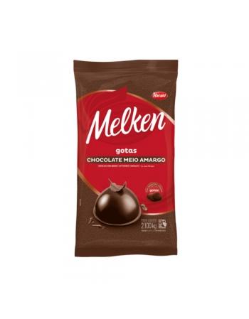 CHOCOLATE GOTAS 1/2 AMARGO MELKEN 2,1KG