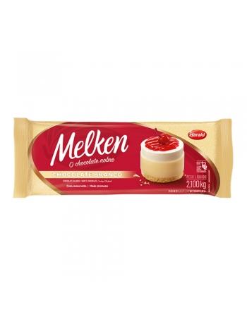 CHOCOLATE BARRA BRANCO MELKEN 2,1KG