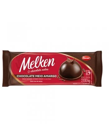 CHOCOLATE BARRA 1/2 AMARGO MELKEN 2,1KG