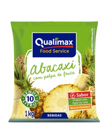 REFRESCO ABACAXI QUALIMAX 1KG