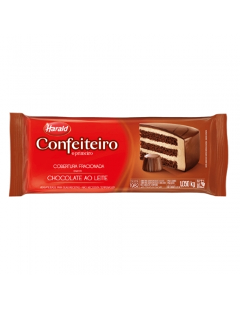 CHOCOLATE COB BARRA AO LEITE CONFEITEIRO 1,05KG