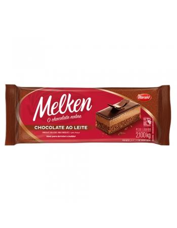 CHOCOLATE BARRA AO LEITE MELKEN 2,1KG