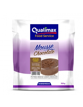 MOUSSE CHOCOLATE QUALIMAX 510G