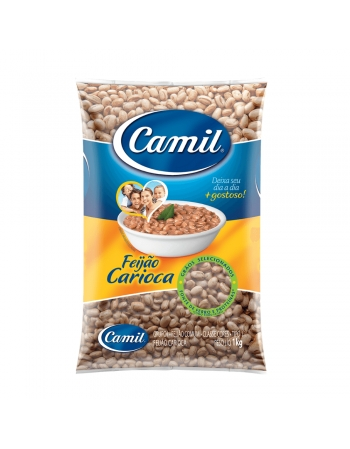 FEIJAO CARIOCA T1 CAMIL 1KG