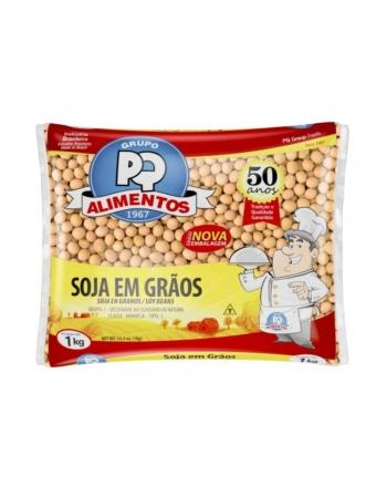 SOJA EM GRAOS PQ 1KG